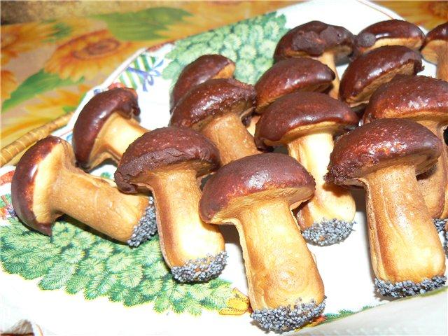 Как сделать тесто для грибочков в форме на газу